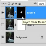 layer mask brushed